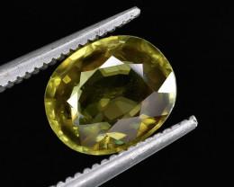 1.92 Crt Natural Sphene Faceted Gemstone.( AG 78)