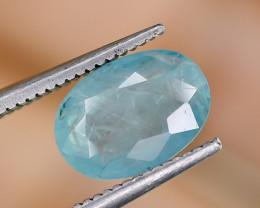 1.76 Crt Natural Rare Grandidierite Faceted Gemstone.( AG 78)