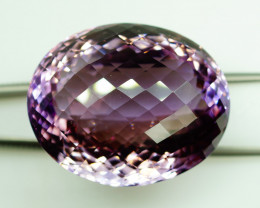 134.28 ct. Natural Top Nice Purple Ametrine Unheated Brazil-IGE Сertified
