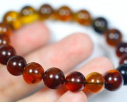 57.5Ct Natural Amber Bracelet