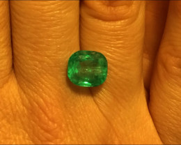 3,98ct Colombian Emerald Ref 31/76 Colombian Emeralds Colombian Emeralds
