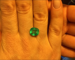 Wonderful 3,98ct Colombian Emerald Ref 31/76