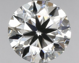 IGI Certified  1,07ct Round Natural Diamond