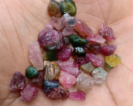 55.75 CT TOURMALINE ROUGH GEMSTONES PARCEL VA1071