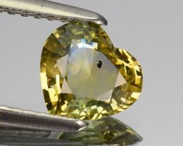 1.11 Cts Natural Corundum Bi-Color Sapphire Srilanka Gem