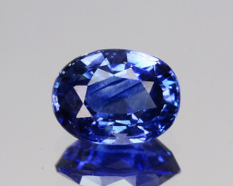 0.82 Cts Natural Corundum Sapphire Nice Blue Oval Cut SriLanka Gem (Video A