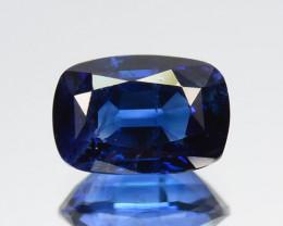 2.01 Cts Natural Corundum Sapphire Nice Blue SriLanka Gem (Video Avl)