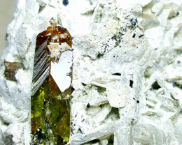 Amazing huge Museum Titanite Sphene combine with Tourmaline 15870Cts-Pak