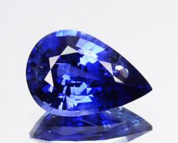 1.26 Cts Natural Corundum Sapphire Nice Blue SriLanka Gem (Video Avl)