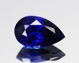 0.80 Cts Natural Corundum Sapphire Nice Blue SriLanka Gem (Video Avl)