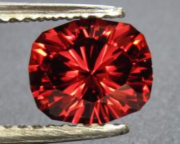 Rhodolite Garnet 1.51 ct Custom Cut Garnet Gemstone