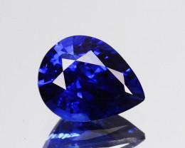 0.55 Cts Natural Corundum Sapphire Nice Blue SriLanka Gem (Video Avl)