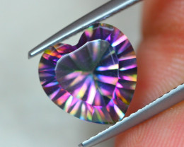 3.81Ct Mystic Topaz Heart Cut Lot B542