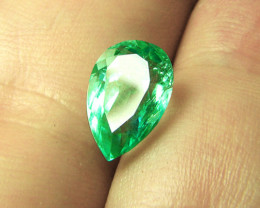 2.04 ct Gorgeous Top Of The Line Colombian Emerald Certified!