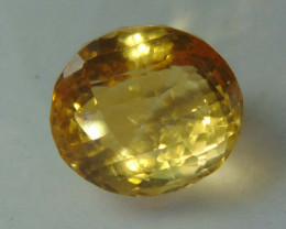 17.60 CTS FLAWLESS SPARKLING NATURAL  CITRINE