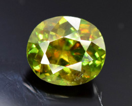 1.50 CT Natural Full Fire Color Change Natural Sphene Titanite Gemstone