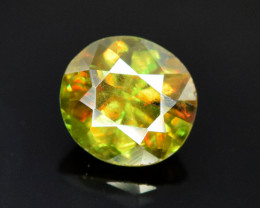 1.00 CT Natural Full Fire Color Change  Natural Sphene Titanite Gemstone