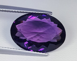 "8.60 ct "" Beautiful Gem"" Fantastic Oval Cut Natural Amethyst"