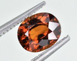 1.38 Crt Natural Spessartite Garnet Faceted Gemstone.( AG 79)