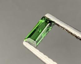 """NR""CHROME Tourmaline 0.45 Carats Natural Vivid Green Best Color"