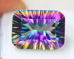 21.46ct Mystic Topaz Octagon Cut Lot D137