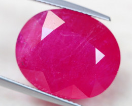 25.26Ct Pink Ruby Oval Cut Lot LZ3019