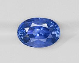 Blue Sapphire, 9.82ct - Mined in Sri Lanka | Certified by GRS & GII