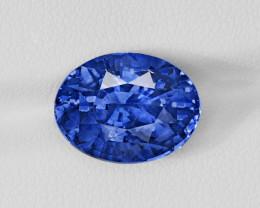 Blue Sapphire, 10.78ct - Mined in Sri Lanka | Certified by GRS