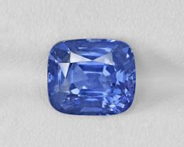 Blue Sapphire, 6.37ct - Mined in Sri Lanka | Certified by GRS