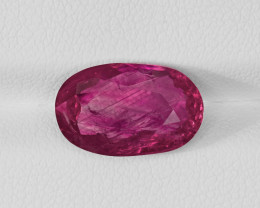 Ruby, 6.21ct - Mined in Burma | Certified by GII
