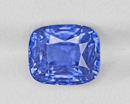 Blue Sapphire, 5.08ct - Mined in Sri Lanka | Certified by GRS