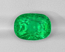 Emerald, 5.21ct - Mined in Afghanistan   Certified by GIA