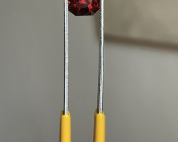 2.52 vivid red spinel