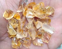 100.30 CT  Natural Citrine Rough Gemstone Parcel VA1133