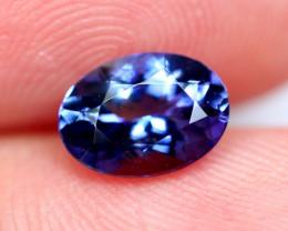 1.31cts TOP Colour Violet Blue D Block Tanzanite / QQ13