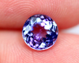 1.29cts TOP Colour Violet Blue D Block Tanzanite / QQ23