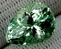 6.90CT GREEN SPODUMENE  BEST QUALITY GEMSTONE IIGC28