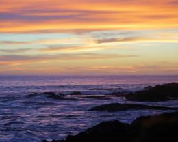 Hawaiian hurricanes give the islands beautiful sunsets.