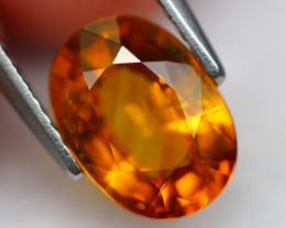 Sapphire 2.58Ct Natural Orange Sapphire A1604