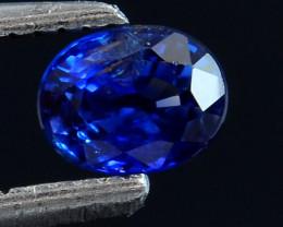 0.53 Cts Blue Sapphire Magnificent Top Color Sparkling Intense SP1