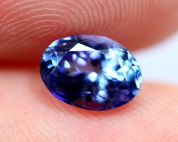 1.18cts TOP Colour Violet Blue D Block Tanzanite / QQ57