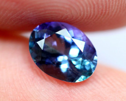 1.18cts TOP Colour Violet Blue D Block Tanzanite / QQ63