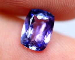 1.13cts TOP Colour Violet Blue D Block Tanzanite / RD84