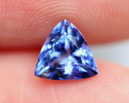 1.10cts TOP Colour Violet Blue D Block Tanzanite / QQ76
