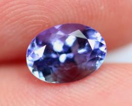 1.27cts TOP Colour Violet Blue D Block Tanzanite / RD89