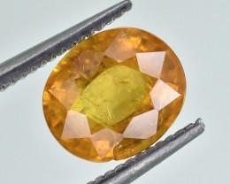 2.52 Crt Natural Spessartite Garnet Faceted Gemstone.( AG 80)