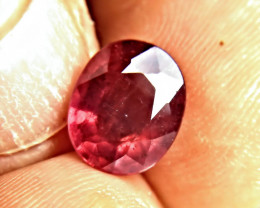 4.99 Carat Fiery, Flashy Ruby - Gorgeous