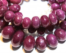 705.40 CTS  - RUBY BEADS STRAND  PG-2640