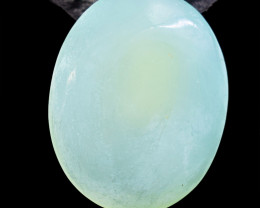 Genuine 58.00 Cts Chalcedony Cabochon