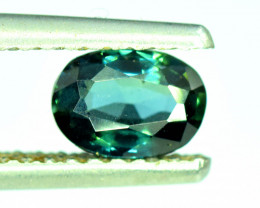 1.20 CT Bi-Color Flawless Party Sapphire Gemstone Oval Cut